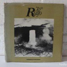 Libros de segunda mano: JUAN RULFO. HOMENAJE NACIONAL = 100 FOTOGRAFÍAS DE JUAN RULFO. 1980. PEDRO PÁRAMO. FOTOLIBRO. Lote 87388964