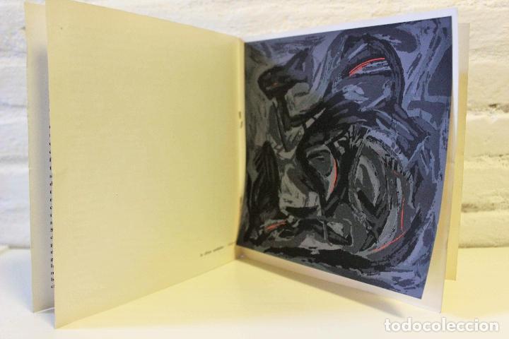Libros de segunda mano: Lote Nadia Werba. incluye serigrafías originales. Museo de Arte contemporáneo Barcelona 1962 - Foto 3 - 67548013