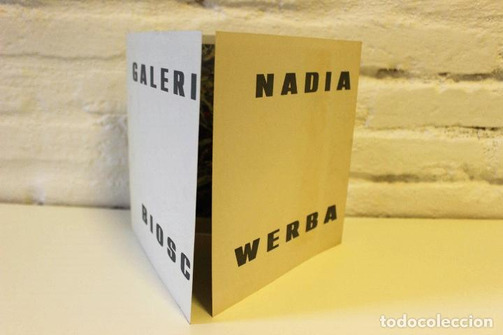 Libros de segunda mano: Lote Nadia Werba. incluye serigrafías originales. Museo de Arte contemporáneo Barcelona 1962 - Foto 6 - 67548013