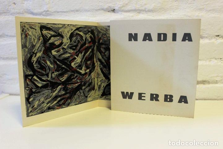 Libros de segunda mano: Lote Nadia Werba. incluye serigrafías originales. Museo de Arte contemporáneo Barcelona 1962 - Foto 8 - 67548013