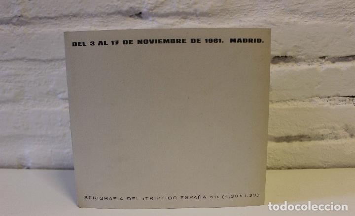 Libros de segunda mano: Lote Nadia Werba. incluye serigrafías originales. Museo de Arte contemporáneo Barcelona 1962 - Foto 9 - 67548013