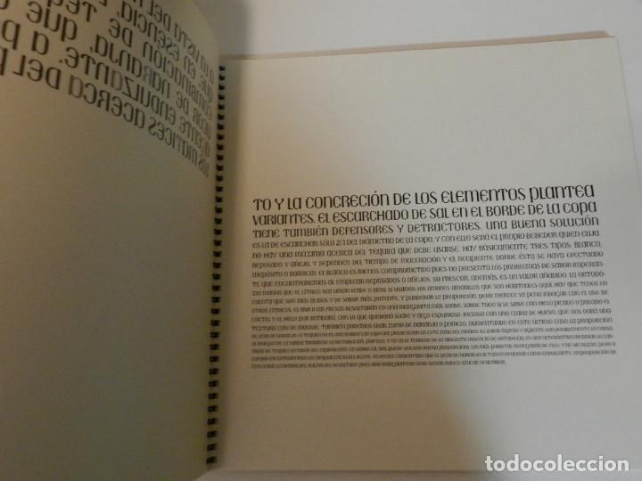 Libros de segunda mano: CÓCTELES ILUSTRADOS DE ÁLVARO SOBRINO DISEÑO GRÁFICO TIPOGRAFÍA NO VENAL PHILIP STANTON - Foto 6 - 112359020