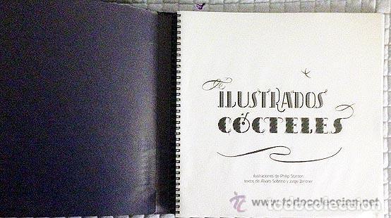 Libros de segunda mano: CÓCTELES ILUSTRADOS DE ÁLVARO SOBRINO DISEÑO GRÁFICO TIPOGRAFÍA NO VENAL PHILIP STANTON - Foto 7 - 112359020