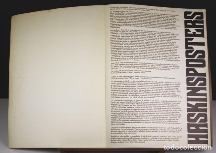 Libros de segunda mano: 8235 - HASKINSPOSTERS. COPYRIGHT SAM HASKINS. 1972. - Foto 2 - 68231753
