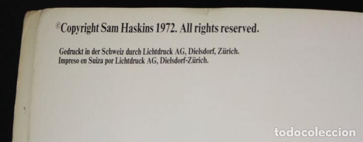 Libros de segunda mano: 8235 - HASKINSPOSTERS. COPYRIGHT SAM HASKINS. 1972. - Foto 4 - 68231753