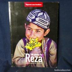 Libros de segunda mano: FOTOS LIBRO 100 FOTOS DE REZA POR LA LIBERTAD DE PRENSA - REPORTEROS SIN FRONTERAS BUEN ESTADO. Lote 68717317