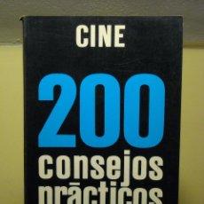 Libros de segunda mano: LIBRO - CINE 200 CONSEJOS PRACTICOS (EMILE VOOGEL - PETER KEYZER) PARRAMÓN EDICIONES - 1980. Lote 68974489