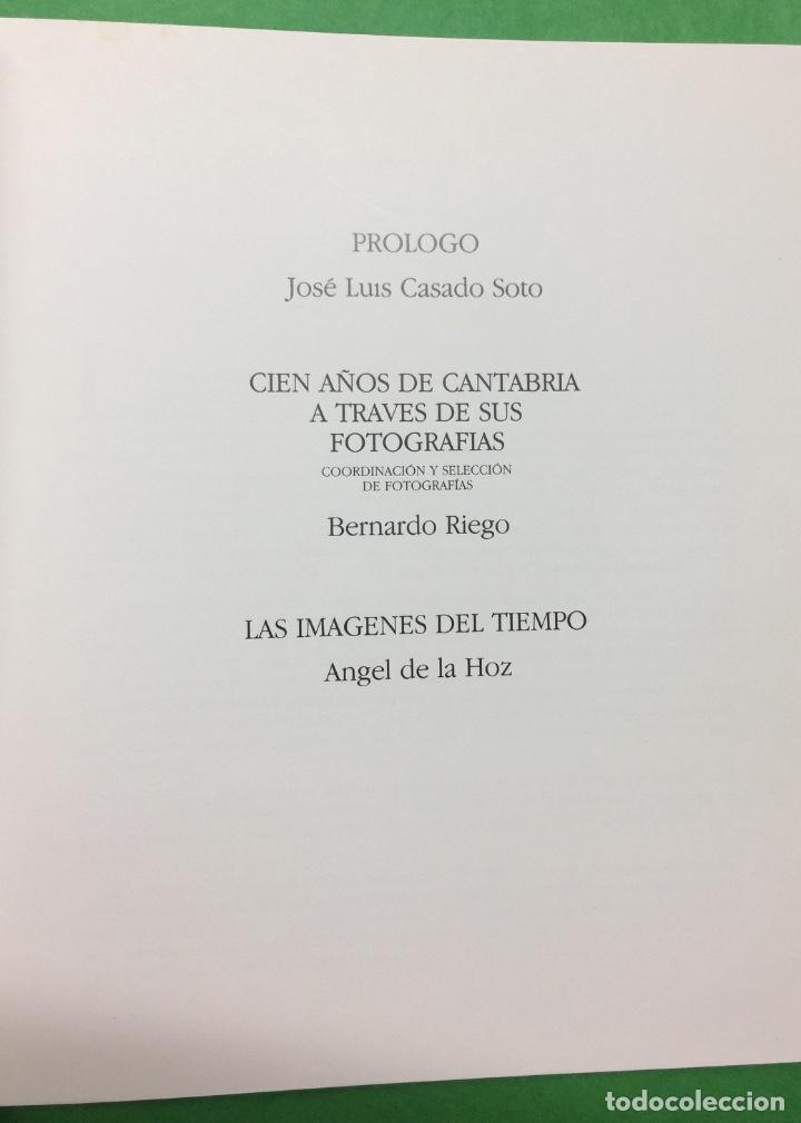 Libros de segunda mano: Cien años de Fotografía en Cantabria - Bernardo Riego y Ángel de la Hoz - Año 1987 - Foto 2 - 68999233