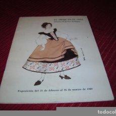 Libros de segunda mano: LIBRITO EL TRAJE EN EL CINE.DISEÑOS DE JAVIER ARTIÑANO. Lote 69048305
