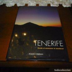 Libros de segunda mano: TENERIFE: DESDE EL AMANECER AL ATARDECER. IMPRESIONANTE FOTOGRAFÍA.. Lote 70498229
