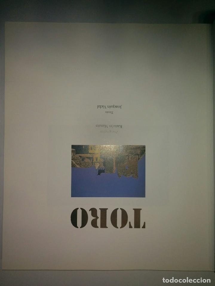 Libros de segunda mano: TORO TEXTO: JOAQUÍN VIDAL ; FOTOGRAFIAS: RAMÓN MASATS LUNWERG EDITORES - Foto 2 - 71596311