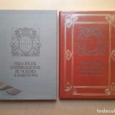 Libros de segunda mano: CARTEL PUBLICIDAD CARTELLS FIRA OFICIAL INTERNACIONAL DE MOSTRES A BARCELONA LIBRO. Lote 71601627