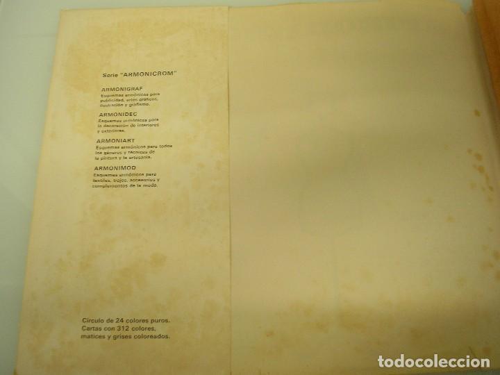 Libros de segunda mano: Armonimod - Color en la Moda - Autoselector armónico - L.E.D.A. 1970 - Publicidad - Ilustración - Foto 10 - 71845315