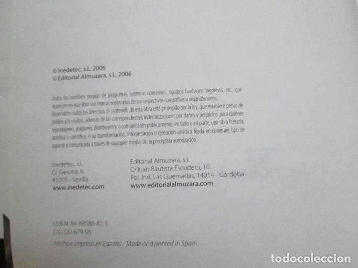 Libros de segunda mano: libro-photoshop cs2-adobe-tecnobook-2006-ed.almuzara-477 páginas-nuevo-ver fotos. - Foto 8 - 72359987