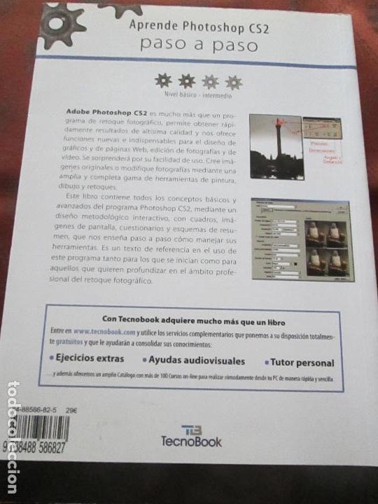 Libros de segunda mano: libro-photoshop cs2-adobe-tecnobook-2006-ed.almuzara-477 páginas-nuevo-ver fotos. - Foto 13 - 72359987