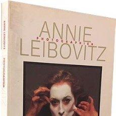 Libros de segunda mano: ANNIE LEIBOVITZ: PHOTOGRAPHIEN (TASCHEN. LÁMINAS FOTOGRÁFICAS A TODA PÁGINA. Lote 72725079