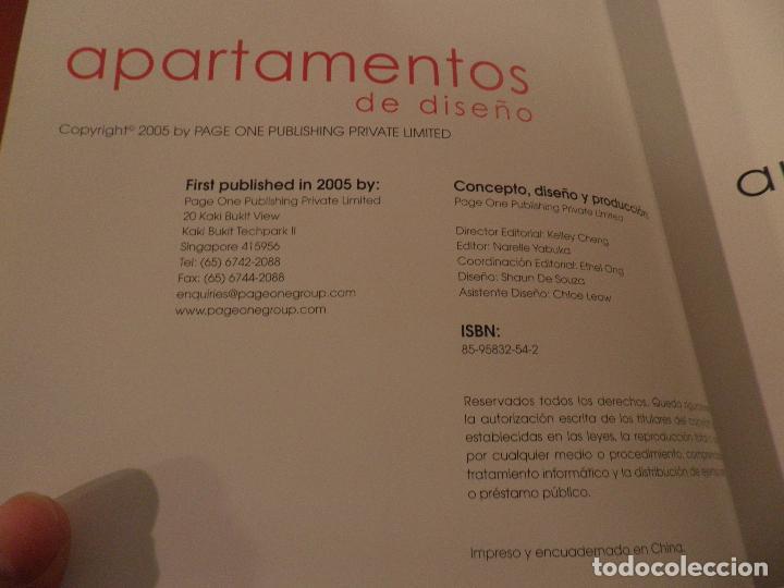 Libros de segunda mano: APARTAMENTOS DE DISEÑO KELLEY CHENG NARELLE YABUKA - Foto 4 - 73065475