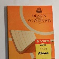 Libros de segunda mano: DESIGN FROM SCANDINAVIA, NO. 7, 1978 WORLD PICTURES, DISEÑO MUEBLE FINLANDIA. Lote 74249175