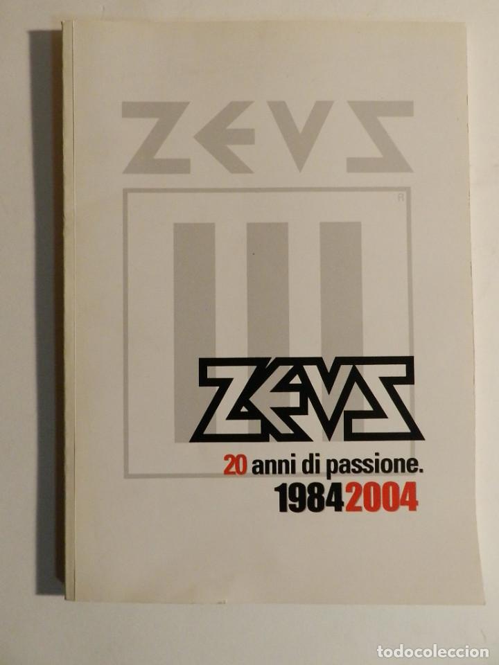ZEUS, 20 ANNI DI PASSIONE : 1984-2004 MILANO, ZEUS 2004 DISEÑO DESIGN (Libros de Segunda Mano - Bellas artes, ocio y coleccionismo - Diseño y Fotografía)