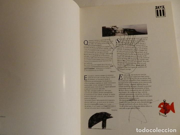 Libros de segunda mano: ZEUS, 20 ANNI DI PASSIONE : 1984-2004 MILANO, ZEUS 2004 DISEÑO DESIGN - Foto 3 - 74444747