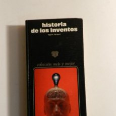 Libros de segunda mano: HISTORIA DE LOS INVENTOS. LARSEN, EGON. ED. ZEUS., 1975 DISEÑO DESIGN . Lote 74853207