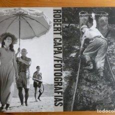 Libros de segunda mano: ROBERT CAPA: FOTOGRAFIAS (R) CAPA, ROBERT EDITORIAL: APERTURE, 1996 192PP. Lote 74962459