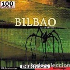 Libros de segunda mano: LOS 100 PAISAJES DE BILBAO. JORGE MORENO. EXCELENTE CALIDAD DE PAPEL Y FOTOS.. Lote 75867791