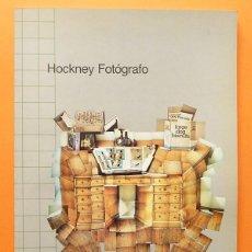 Libros de segunda mano: DAVID HOCKNEY FOTÓGRAFO - FUNDACIÓN CAJA DE PENSIONES - 1985 - NUEVO. Lote 76728687