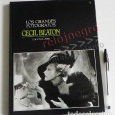 Libros de segunda mano: CECIL BEATON - LOS GRANDES FOTÓGRAFOS 4 ORBIS - LIBRO FOTOGRAFÍA ARTE - FOTÓGRAFA FOTOS FOTOGRAFÍAS. Lote 76945149