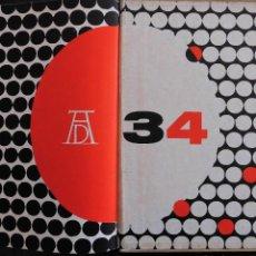 Libros de segunda mano: THE ART DIRECTORS CLUB ANNUAL 34 (NUEVA YORK, 1955) - LIBRO ANUARIO DE LA PUBLICIDAD Y EL ARTE. Lote 77220865