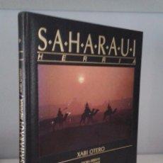 Libros de segunda mano: SAHARAUI HERRIA- XABI OTERO. Lote 101023432