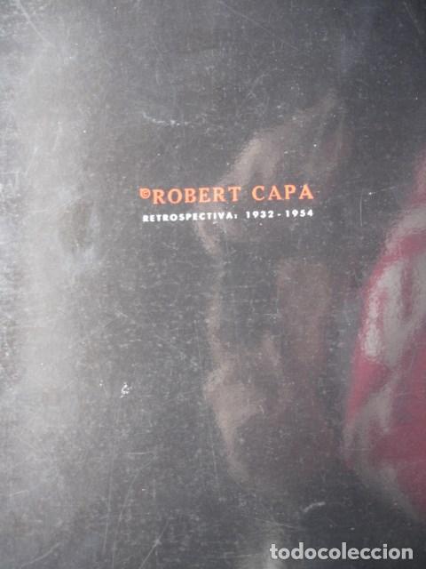 ROBERT CAPA RETROSPECTIVA 1932-54.1989.75 PG MUY ILUSTRADO FOTOGRAFIA (Libros de Segunda Mano - Bellas artes, ocio y coleccionismo - Diseño y Fotografía)