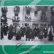 Libros de segunda mano: CAMPDEVANOL IMAGENES Y RECUERDOS.1999.60 PG GERONA MUY ILUSTRADO FOTOGRAFIA. Lote 78524313