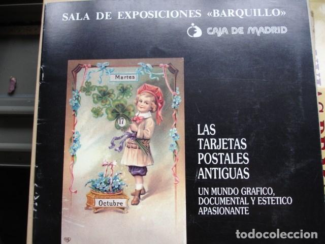 LAS TARGETAS POSTALES ANTIGUAS SALA BARQUILLO SANTAMARIA MORENO .8 PG ILUSTRADO FOTOGRAFIA (Libros de Segunda Mano - Bellas artes, ocio y coleccionismo - Diseño y Fotografía)