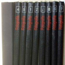 Libros de segunda mano: FOTOGRAFÍA - COMPLETA 8 TOMOS + 1 DE PRÁCTICAS EXTRA - CURSOS PROFESIONALES PLANETA-AGOSTINI - VER. Lote 78883213