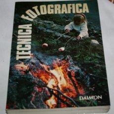 Libros de segunda mano: TECNICA FOTOGRAFICA, ANTOINE DESILETS, DAIMON 1979, LIBRO. Lote 78942341