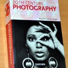Libros de segunda mano: LIBRO EN INGLÉS DE FOTOGRAFÍA: 20TH CENTURY PHOTOGRAPHY - EDITA: TASCHEN - AÑO 2005. Lote 79319061