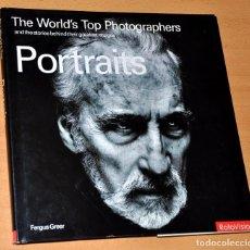 Libros de segunda mano: LIBRO EN INGLÉS DE FOTOGRAFÍA: PORTRAITS (RETRATOS) - EDITA: ROTOVISION - AÑO 2004. Lote 79327357