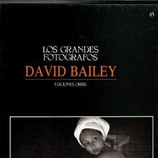 Libros de segunda mano: LOS GRANDES FOTÓGRAFOS, 45. DAVID BAILEY. Lote 79543761