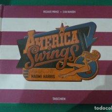 Libros de segunda mano: AMERICA SWINGS - NAOMI HARRIS. Lote 98358514