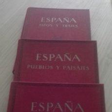 Gebrauchte Bücher - JOSE ORTIZ ECHAGÚE Tipos y Trajes, Pueblos y Paisajes, España Mística - 81048048