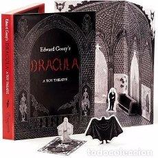 Libros de segunda mano: DRACULA EDWARD GOREY .JUGUETE TEATRO.POP UP DIORAMA.. Lote 84174256