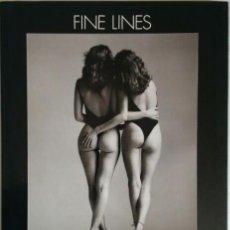 Libros de segunda mano: FINE LINES. JOHN SWANNELL. (FOTOGRAFÍA ERÓTICA FEMENINA EN BLANCO Y NEGRO. LIBRO SIN TEXTO). Lote 86735312