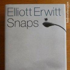 Libros de segunda mano: ELLIOT ERWITT SNAPS. PHAIDON. 200. EN INGLES. . Lote 88346432