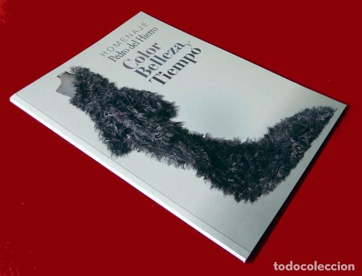Libros de segunda mano: HOMENAJE PEDRO DEL HIERRO, TITULO: COLOR, BELLEZA Y TIEMPO, EDICIÓN LIMITADA, DIFÍCIL - NUEVO. - Foto 2 - 88359596