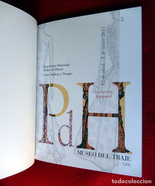 Libros de segunda mano: HOMENAJE PEDRO DEL HIERRO, TITULO: COLOR, BELLEZA Y TIEMPO, EDICIÓN LIMITADA, DIFÍCIL - NUEVO. - Foto 3 - 88359596