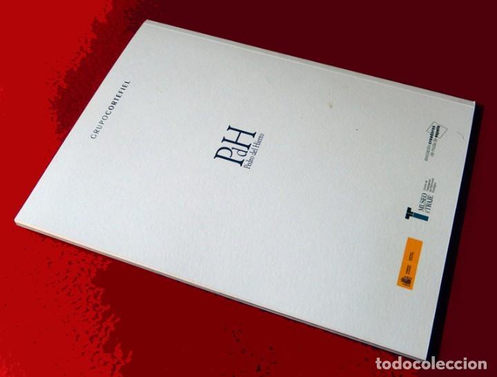 Libros de segunda mano: HOMENAJE PEDRO DEL HIERRO, TITULO: COLOR, BELLEZA Y TIEMPO, EDICIÓN LIMITADA, DIFÍCIL - NUEVO. - Foto 9 - 88359596