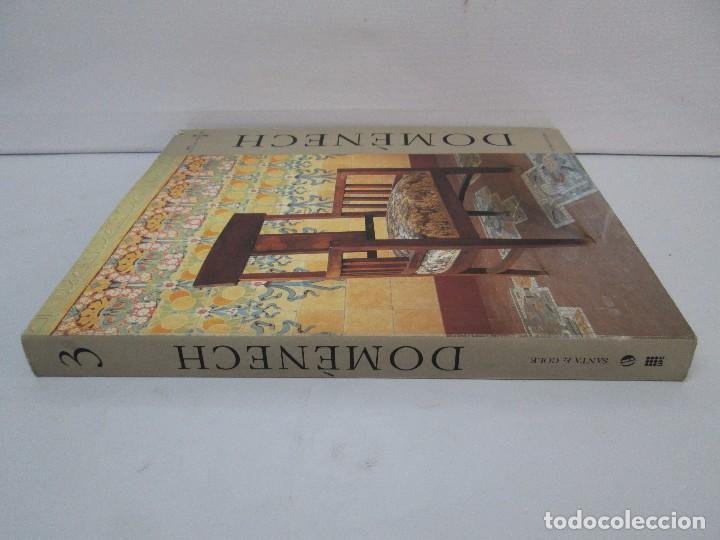 Libros de segunda mano: LLUIS DOMENECH I MONTANER. LOURDES FIGUERAS. CLASICOS DEL DISEÑO. 1994. VER FOTOGRAFIAS ADJUNTAS - Foto 2 - 88364672
