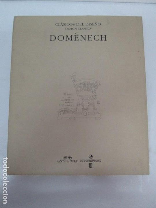 Libros de segunda mano: LLUIS DOMENECH I MONTANER. LOURDES FIGUERAS. CLASICOS DEL DISEÑO. 1994. VER FOTOGRAFIAS ADJUNTAS - Foto 24 - 88364672