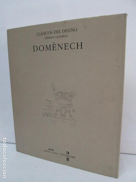 Libros de segunda mano: LLUIS DOMENECH I MONTANER. LOURDES FIGUERAS. CLASICOS DEL DISEÑO. 1994. VER FOTOGRAFIAS ADJUNTAS - Foto 25 - 88364672